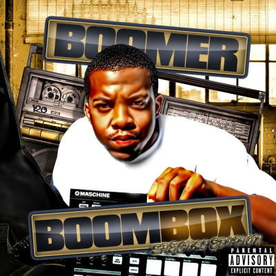 BOOMBOX FRONT COVER PRINT SPECIAL EDITION